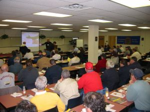 Attendance was high at the NJAPA / AGC of NJ presentation.