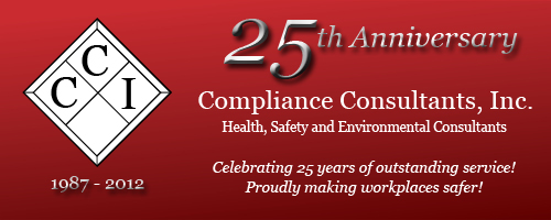 Compliance Consultants, Inc. 25 year Logo