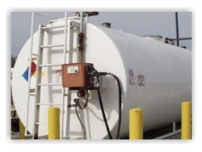 tank storing chemicals