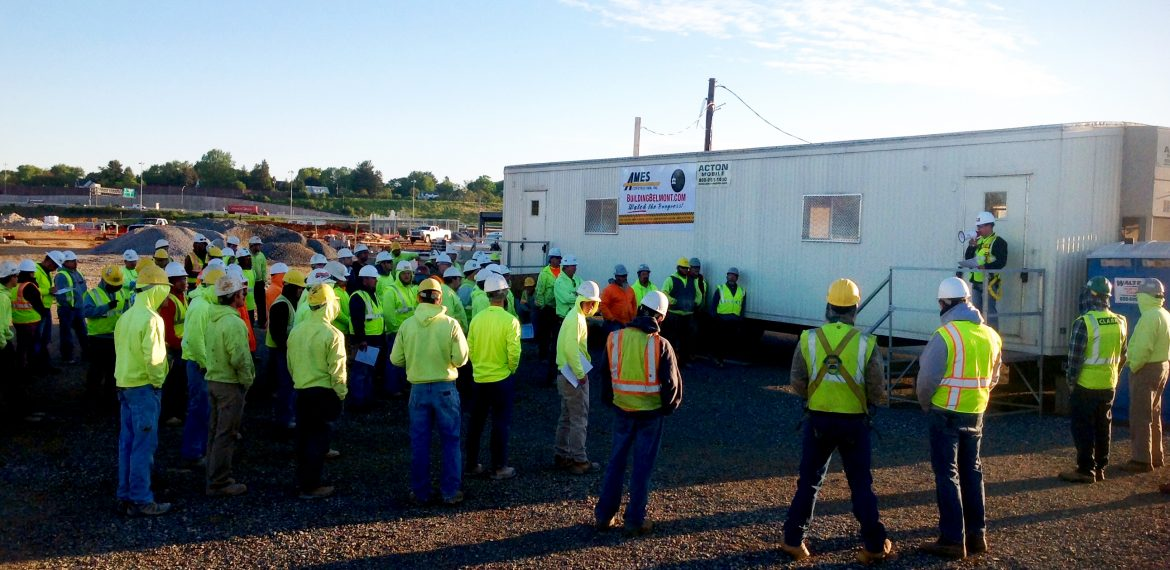 construction safety stand-down meeting