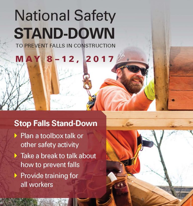 OSHA National Safety Stand-Down