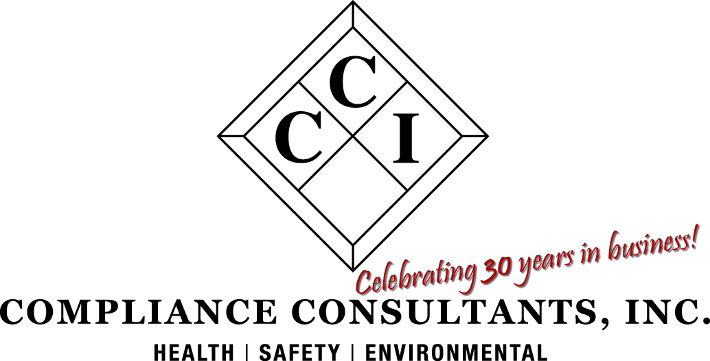 Compliance Consultants, Inc. 30 year anniversary logo