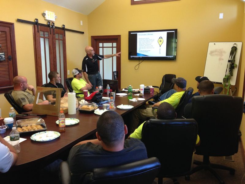 fall prevention safety training