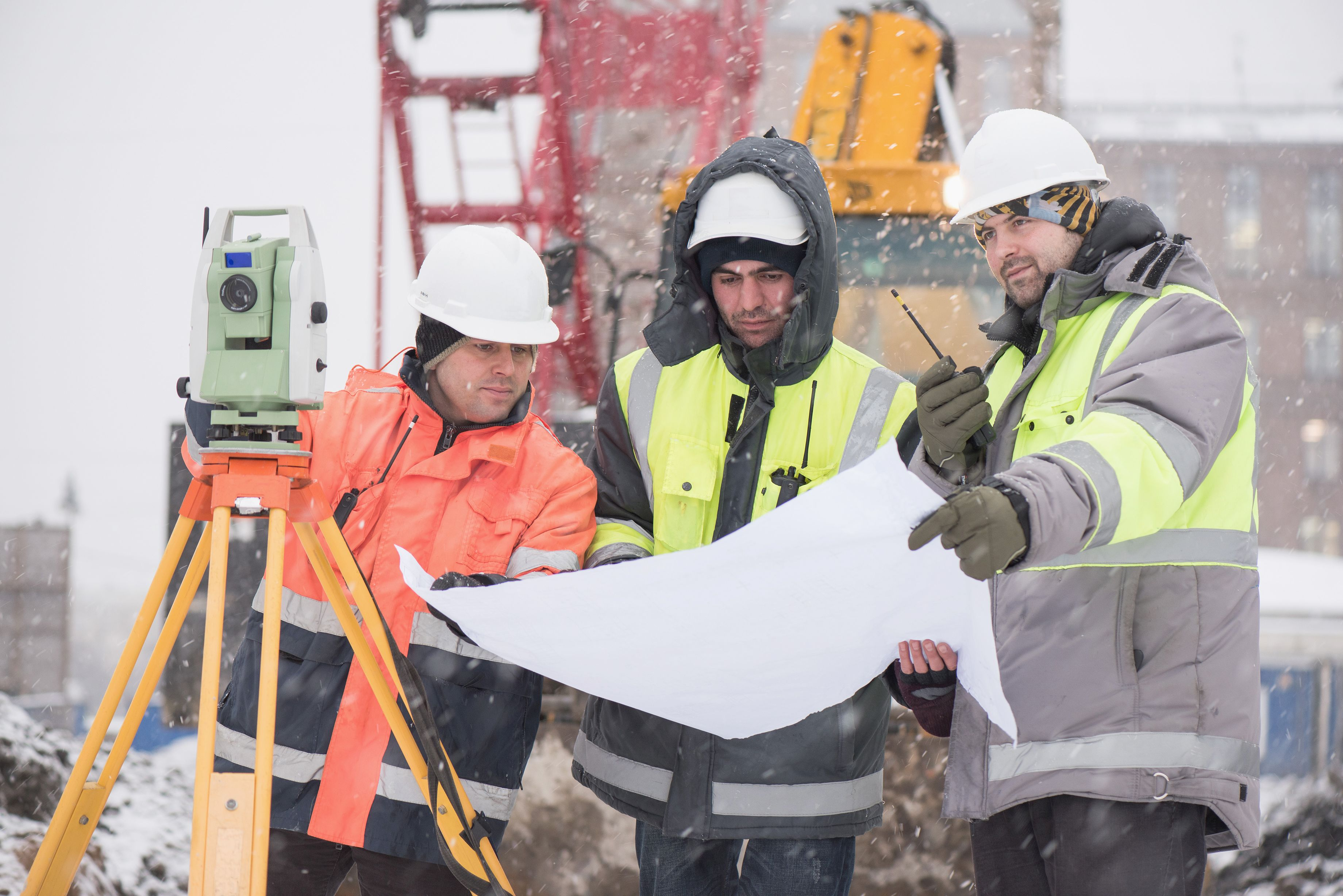 winter safety construction tips storms plan equip train osha