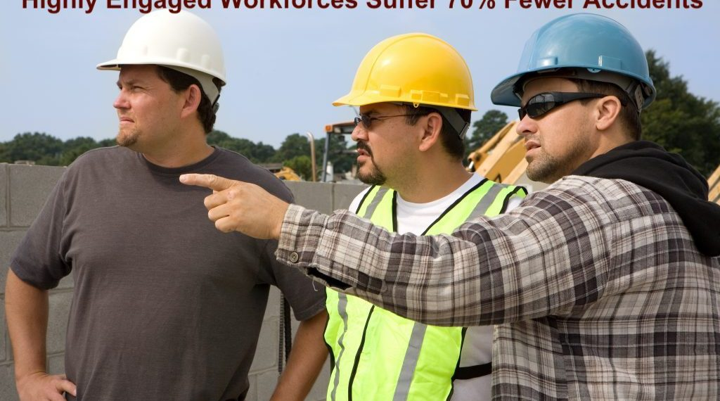 workers engaged in addressing hazards on their jobsite